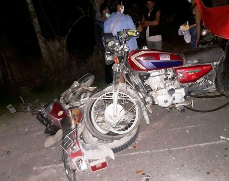 Trágico accidente en carretera que conduce al distrito de Posic, deja un muerto y 02 heridos