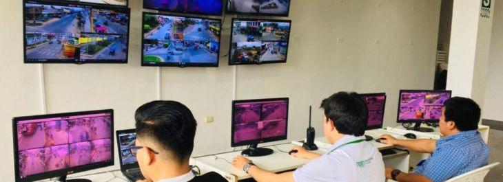 Tarapoto: La Unidad de Emergencia 105 se traslada a la Central de Serenazgo