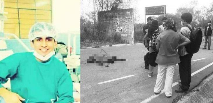 Odontólogo limeño muere en trágico accidente en la carretera Sacanche – Saposoa, tras impactar su motocicleta contra automóvil