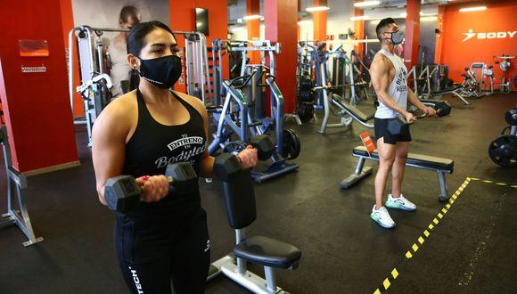 Produce evalúa reapertura de gimnasios al 50% de capacidad y previa cita