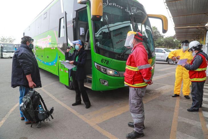 Dato: Transporte interprovincial sí está permitido en estas regiones y provincias