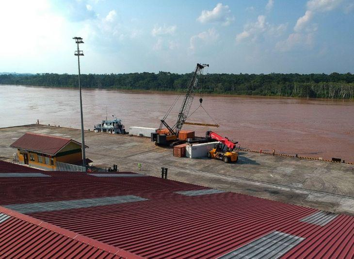 Reactivación: Puerto de Yurimaguas incrementa en 290 % su movimiento de carga