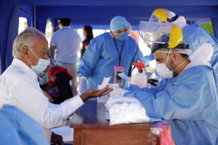 San Martín, registra hoy 215 nuevos casos de COVID-19