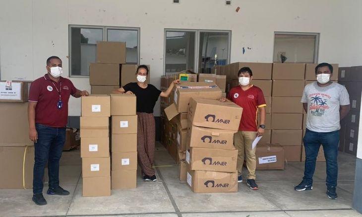 Médicos sin Fronteras realiza donación de equipos biomédicos, equipos de protección personal y pruebas rápidas al Hospital II-2 Tarapoto