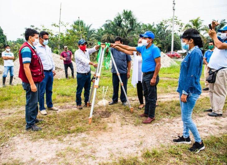 Tocache: Invertirán más de S/ 5 millones en obras de reparación colectiva