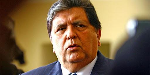 Rechazan apelaciones contra medidas cautelares a bienes de Alan García