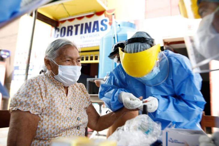 San Martín registra hoy 316 nuevos casos de COVID-19