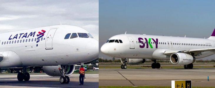Latam y Sky, reiniciarán vuelos a partir del 3 de setiembre a la ciudad de Tarapoto