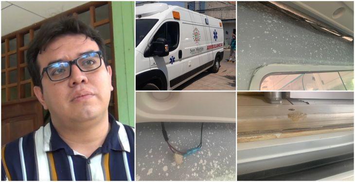 Consejero Regional Jorge Corso Reátegui, anunció que presentarán denuncia formal por ambulancia adquirida por el PEHCBM