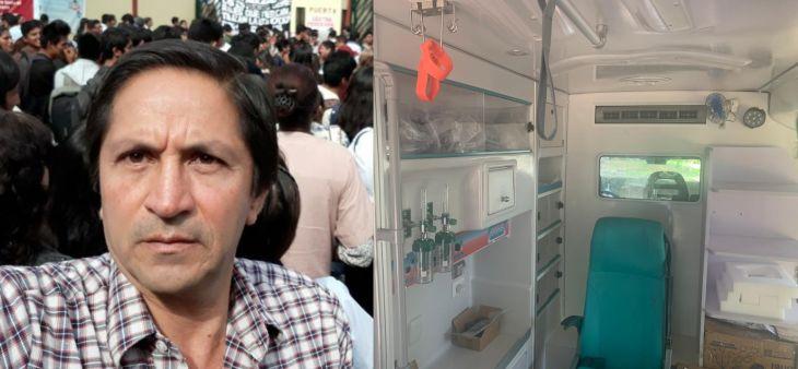 Buenaventura Ríos denuncia de manipulación de ambulancia