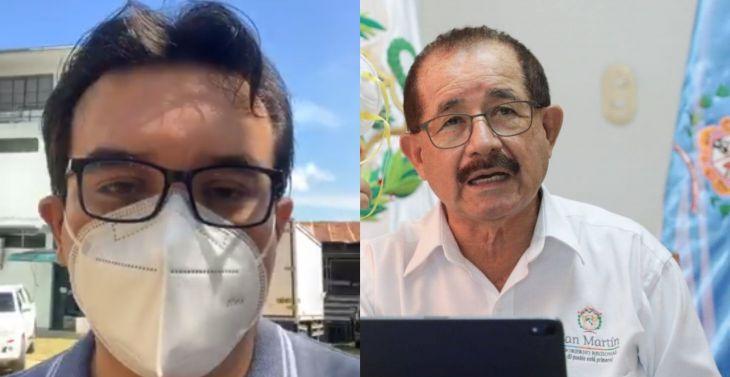 Consejero regional Jorge Corso Reátegui, lamentó las declaraciones del gobernador regional Pedro Bogarín