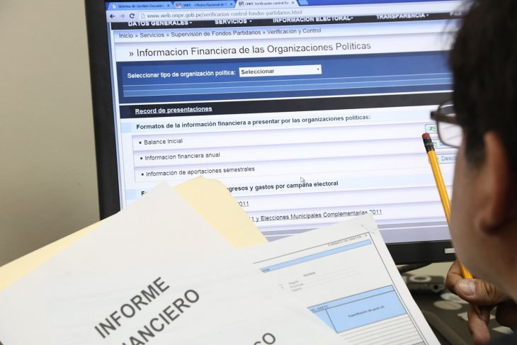 Partidos tienen hasta el 16 de octubre para entregar información financiera