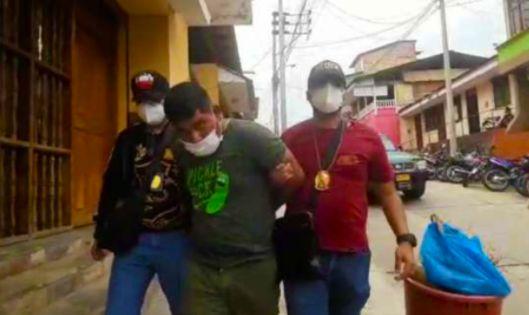 Banda de Shilcayo: Intervienen a suboficial PNP sindicado de participar en un asalto a mano armada