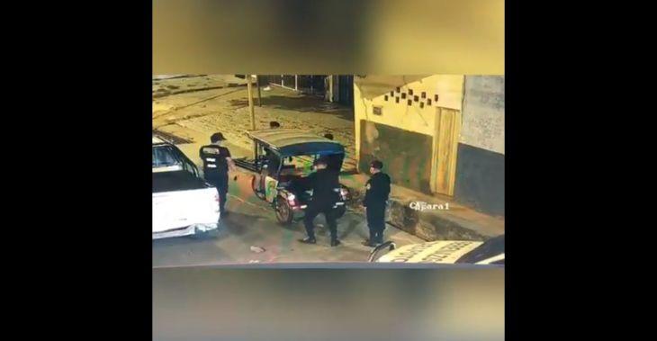 Sujeto que fue detenido hurtando un motocar en el barrio Comercio, tiene un amplio prontuario delincuencial por diversos delitos
