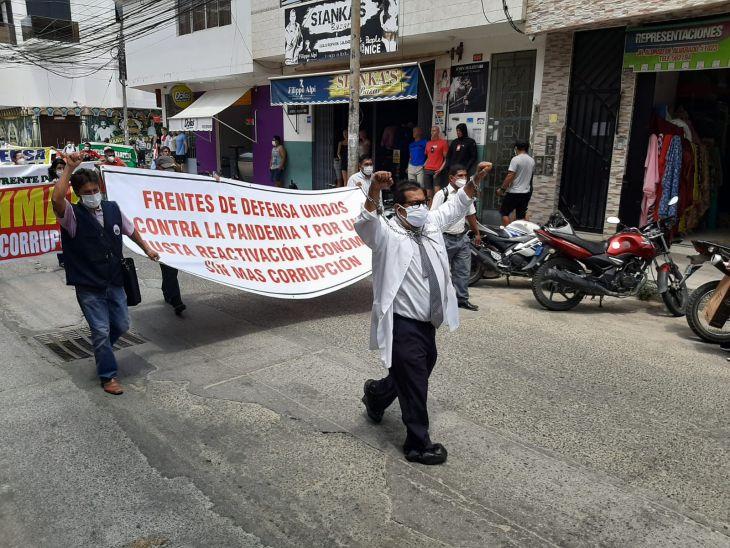 Desazón en los dirigentes de los Frentes de Defensa de San Martín