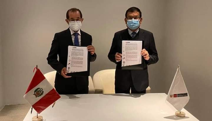 Gobernador Regional de San Martín, firmó convenio con el Ministro de Agricultura, para titulación de 90 mil predios rurales en los próximos dos años
