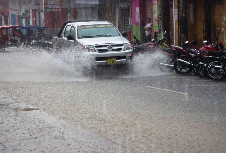 ¡Atención! Selva norte y central soportará lluvia moderada desde hoy