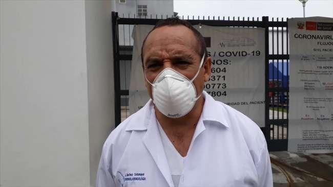 Decano del Colegio Médico advierte que equipos del Hospital II – 2 no están en funcionamiento