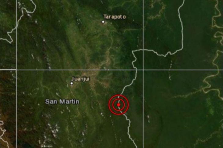 Sismo de magnitud 4.7 remeció esta tarde Moyobamba
