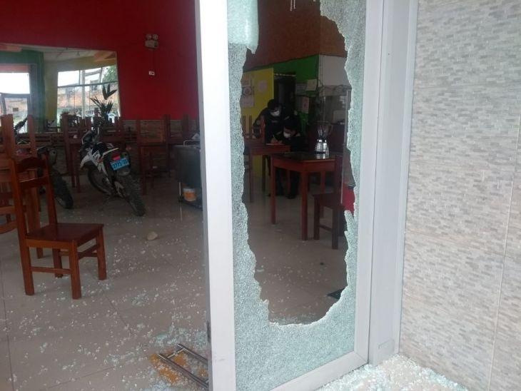 Moyobamba: Roban en conocida pollería del centro de la ciudad