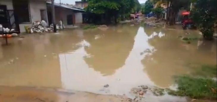 Tarapoto: Se registraron la inundación de viviendas en diversos puntos de la ciudad por torrencial lluvia