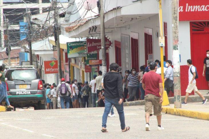 La cifra total de contagiados por Covid-19 durante la emergencia sanitaria en la región San Martín es de 38,636 casos