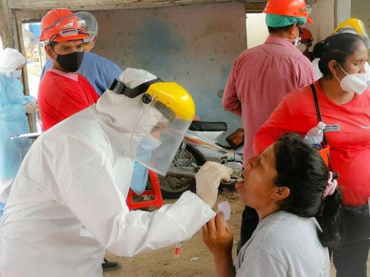 San Martín, registra en las últimas 24 horas, 133 nuevos casos de Covid-19 y dos fallecidos