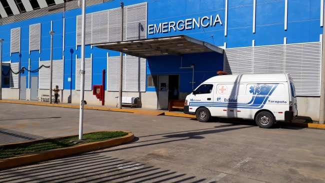 Hospital EsSalud Tarapoto, reinicia atención en el servicio de emergencia