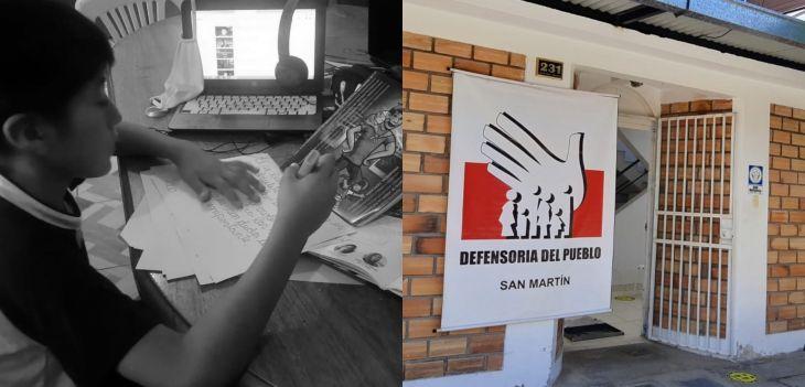 San Martín: 25 mil estudiantes aún no logran acceder a las clases remotas por falta de conectividad