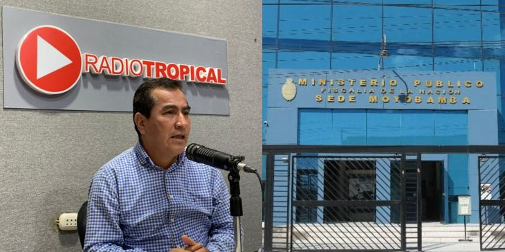 Fiscalía Anticorrupción de Funcionarios de Moyobamba, inicia investigación preliminar contra Quinto del Águila Chávez