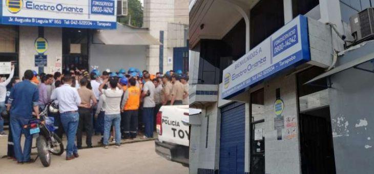Sindicatos de trabajadores de la empresa Electro Oriente se pronuncian y exigen remoción de los funcionarios de la actual gestión