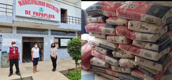 Congresista Robertina Santillana entrega donación a damnificados en papaplaya