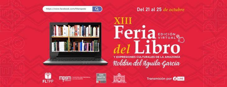 Tarapoto: Hoy se inicia la XIII Feria del libro Roldán del Águila García