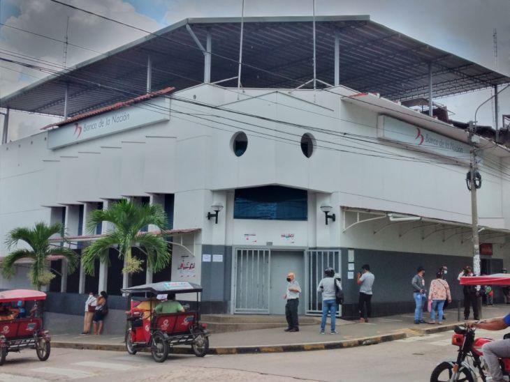 Defensoría del Pueblo brinda recomendaciones ante el cierre por cuarentena del Banco de La Nación