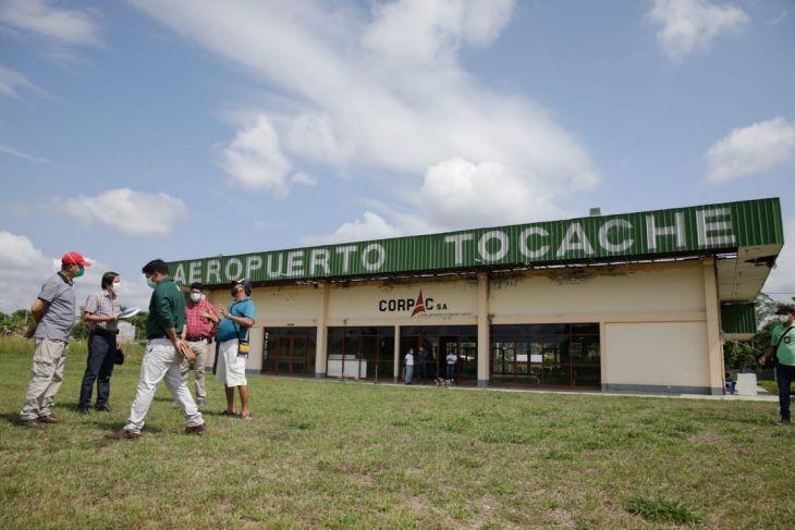 Goresam invertirá en la modernización del aeropuerto de Tocache