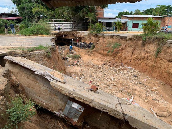 Este lunes se iniciarán trabajos de reconstrucción en la cuadra uno de la vía de evitamiento en Tarapoto