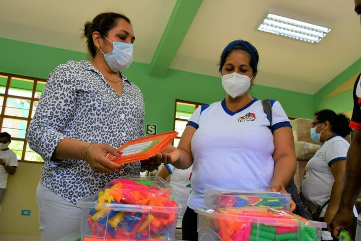 Se inició entrega de módulos educativos a instituciones de nivel inicial en San Martín