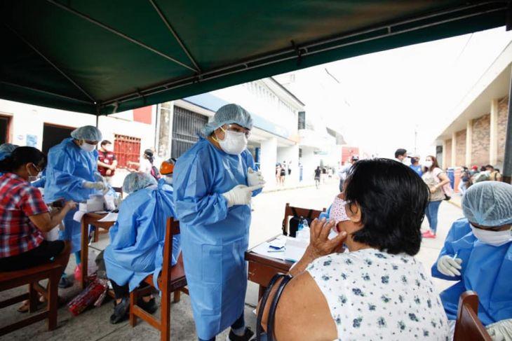 Se registraron 194 casos nuevos de Covid 19 en la región San Martín