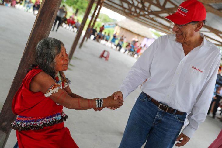 Presidente de la República Martín Vizcarra y Ministra de Inclusión llegan hoy a Tarapoto