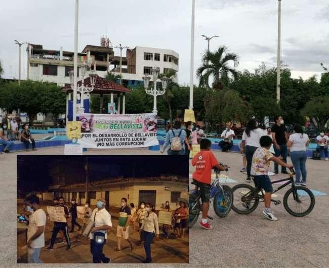 Población de Bellavista ejerce presión a Regidores para votar a favor de la vacancia del alcalde Eduar Guevara Gallardo