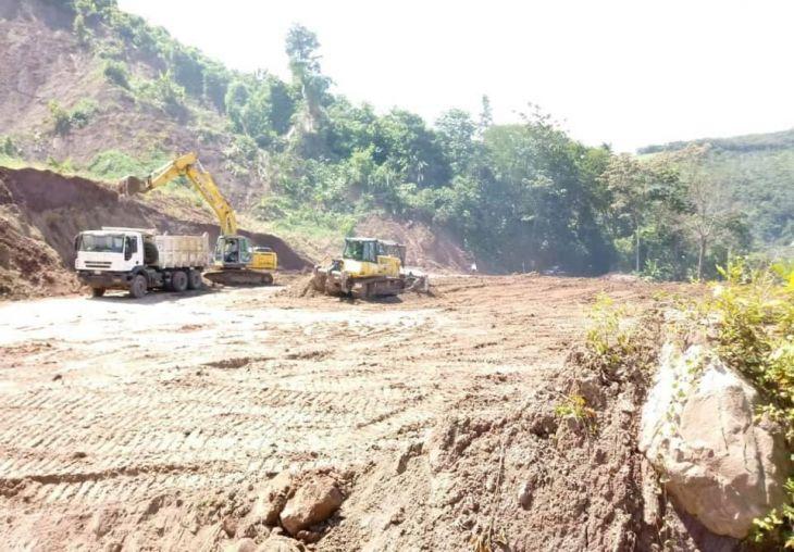 Inició el mantenimiento de la vía Cuñumbuque – San José de Sisa