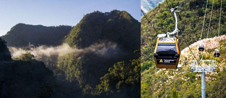 Posible construcción de Teleférico en Cordillera Escalera genera polémica