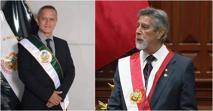 Alcalde Tedy del Águila participará este mediodía con el presidente Francisco Sagasti en Palacio de Gobierno