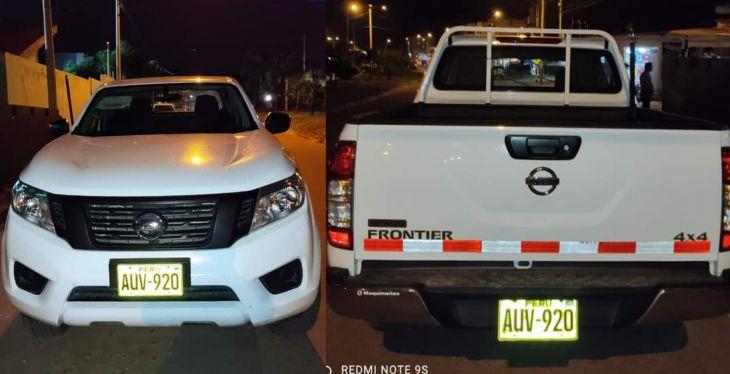 GORESAM: Vehículo entregado al hospital de picota tiene orden de captura vigente