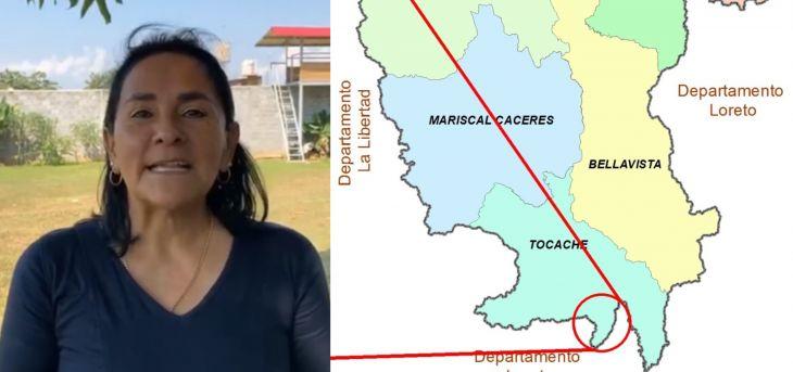 Robertina Santillana: Estamos velando por los intereses de la Región San Martín frente a eventuales problemas limítrofes con Huánuco