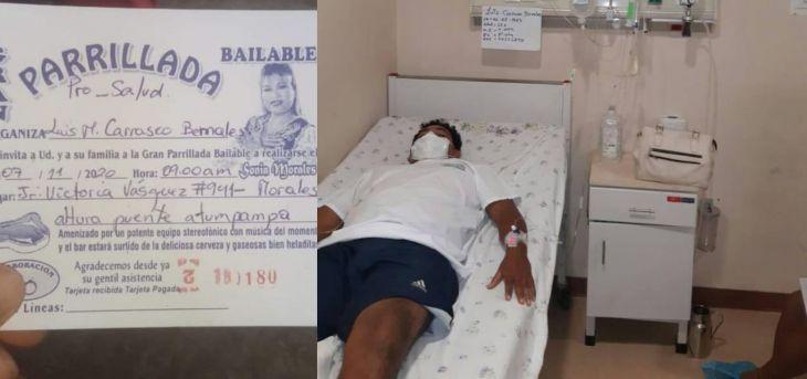 Pasajero que resultó herido en asalto cerca de Tabalosos en la carretera FBT pide apoyo