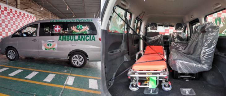 Municipalidad Provincial de San Martín aprueba por unanimidad la sesión en uso por 02 años de la ambulancia del Colectivo Civil Respira San Martín