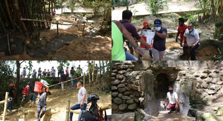 """Tarapoto: Vecinos unen esfuerzo y recuperan tradicional puquio """"El Fondero"""""""