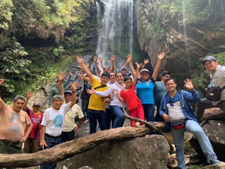 Trabaja Perú: Mejoran accesibilidad e infraestructura de cascadas Lejiayacu y Paccha en Jepelacio, en la provincia de Moyobamba