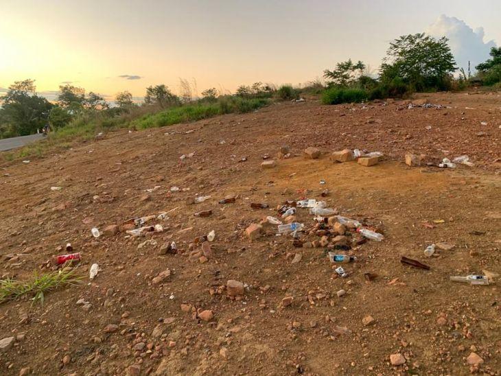 Multarán a propietarios del sector tamoba que siguen dejando basura en el lugar